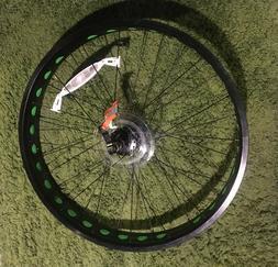 "26"" x 4"" Fat Bike Wheel"
