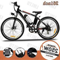 26inch Foldable Electric Bike City Mountain Cycling EBike 36