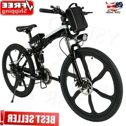 26inch Folding Electric Mountain Bicycle City E-Bike 21 Spee