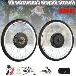 26inch Front Rear Electric Bicycle E-Bike Wheel Motor Conver