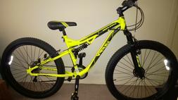 "27.5"" Huffy Men's 3.0 Carnage Mid-Fat Tire Mountain Bike Yel"