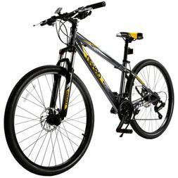 """27.5"""" Men's Mountain Bike 21 Speed Bicycle Shimano Hybrid Sp"""