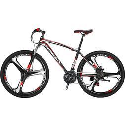 """X1 27.5"""" Mountain Bike Shimano 21 Speed Disc Brake Bicycle M"""