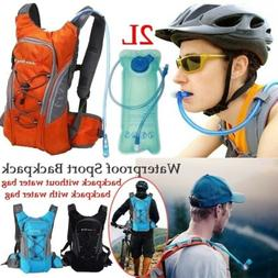 2L Water Bag Outdoor Sport Riding Hiking Hydration Backpack