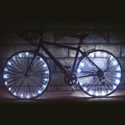 2m String Light Rechargeable Water-resistant 20LED Bike Cycl