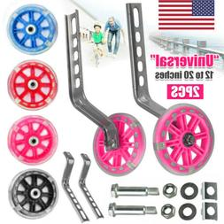 2pcs bicycle mute training wheels for 12