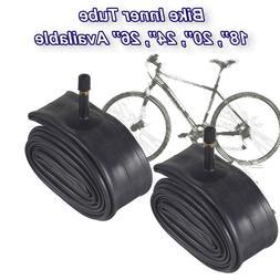 "2X 26/"" Inner Bike Tube Bicycle Rubber Tire BMX Schrader Valve 1.75-2.125 BN-26"