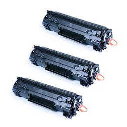 3 Pack GTS ? Replacement Toner Cartridge for Canon 125