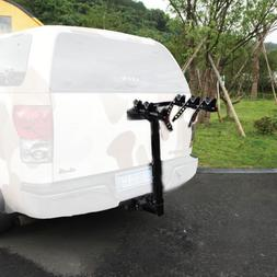 3 Bike Bicycle Carrier Car Truck SUV Foldable Trunk Mount Re