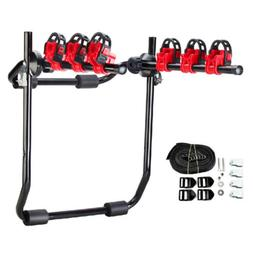 3-Bike Trunk-Mount Hatchback SUV or Car Sport Bicycle Carrie