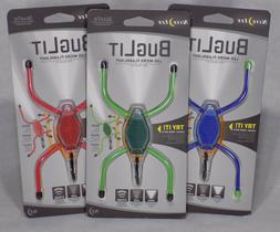 3 pack Nite Ize BugLit LED Micro Flashlight Bike camping lig