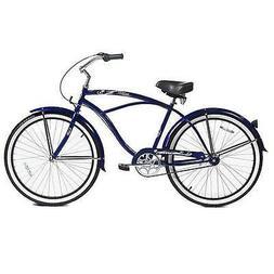 """Micargi MBI 26/"""" Rover 3 speed Men beach cruiser bicycle bike matte Black"""