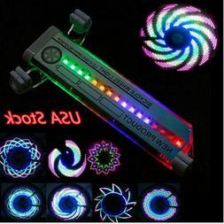 32LED Colorful Bicycle Wheel Tire Spoke Signal Light For Bik