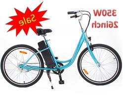 350W 26in Yukon Trail Electric Bike Powered Bicycle Assembly