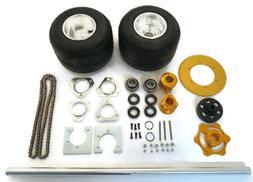 36 Inch Shaft Kit for Drift Trike Bikes with Twelve Axle Nut