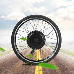 "36V 500W 26"" Front Wheel Electric Bicycle Ebike Motor Cyclin"