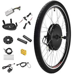 """436V 500W 26"""" Front Wheel Electric Bicycle E-bike Kit Conver"""