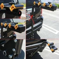 4 Bicycle Bike Rack Hitch Mount Carrier Car Swing Down 120lb