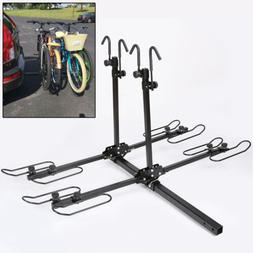 4-Bike Platform Style Bicycle Rider Hitch Mount Carrier Rack