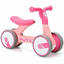 4 Wheels Kids Balance Bike Children Walker Toddler Toys Ride