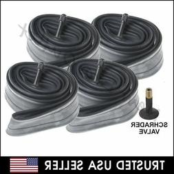 "4 x 20"" inch Inner Bike Tube 20 x 1.75 - 2.125 Bicycle Rubbe"