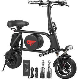 400W Folding Electric Bicycle E-bike 16AH Remote Control &am