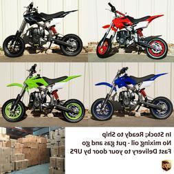 40cc Gas powered mini dirt bike - small pit bike for kids