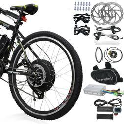 "48V 1000W 26"" Rear Wheel Electric Bicycle Motor Conversion K"