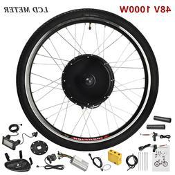 48V 1000W Electric Bicycle Rear Wheel E-Bike Motor Kit Conve