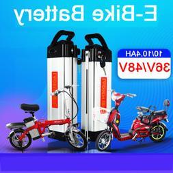 48V/36V/24V Li-ion Lithium Battery Pack Rechargeable Electri
