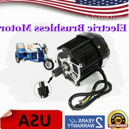 48V-60V 1000W Electric Brushless Motor for Electric E-Tricyc
