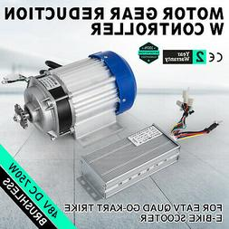 48V DC 750W Electric Brushless Motor w Controller DIY #40 ch