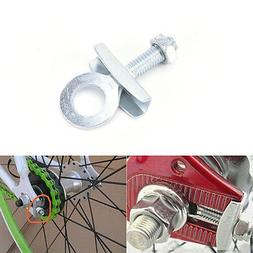 4pcs Bike Chain Tensioner Adjuster For Fixed Gear Single Speed Track Bicycle ^D