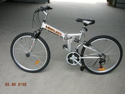 Aluminum Mountain Bike 21 Speed 26 Inch 3 Spoke Wheels Dual