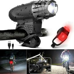 5000 Lumen 8.4V Rechargeable Cycling Light Bicycle Bike LED