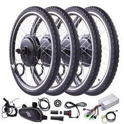"500W/1000W 26"" Front/Rear Wheel Electric Bicycle Motor Kit E"