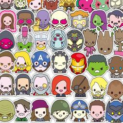 50PCS Marvel Super Hero <font><b>Stickers</b></font> <font><