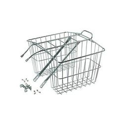 Wald 520 Rear Twin Bicycle Carrier Basket