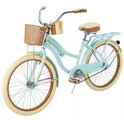 "🚲Huffy 54578 Nel Lusso 24"" Cruiser Bike - Mint Green BEST"