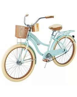 Huffy 54578 Nel Lusso 24 inch Cruiser Bike - Mint Green *FRE
