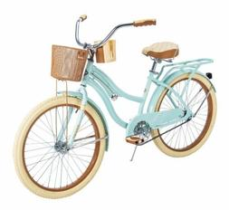 Huffy 54578 Nel Lusso 24 inch Cruiser Bike - Mint Green