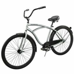 Huffy 56409P7 26 inch Cruiser Bicycle - Silver