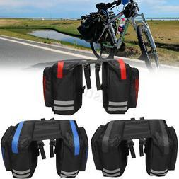 600D 20L Bicycle Rear Rack Seat Saddle Bag Pannier Tail Dura