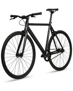 6KU Aluminum Fixed Gear Single-Speed Fixie Urban Track Bike,