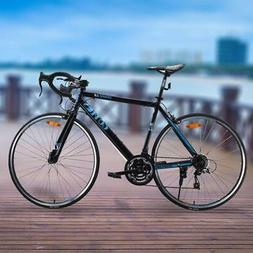 Goplus 700C 52cm Aluminum Road/Commuter Bike Bicycle 21 Spee