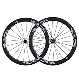 ICAN 50mm 700C Carbon Wheels Road Bike Clincher Rim Shimano