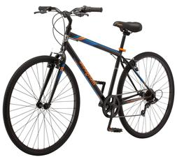 700C Mens Mongoose Hotshot, Black and Orange