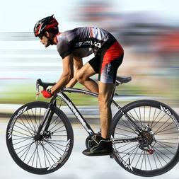Begasso Shimanos Aluminum Full Suspension Road Bike 21 Speed