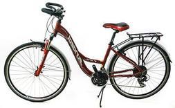 "Sundeal 16"" 700c T1 Step Thru Aluminum Urban/Commuter Bike S"