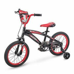 "Huffy 71808 16"" Motox Boys Bike, Gloss Black, 16 inch Wheel"
